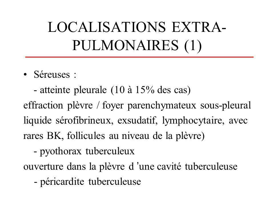 LOCALISATIONS EXTRA-PULMONAIRES (1)