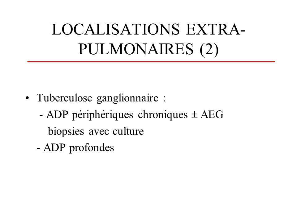 LOCALISATIONS EXTRA-PULMONAIRES (2)