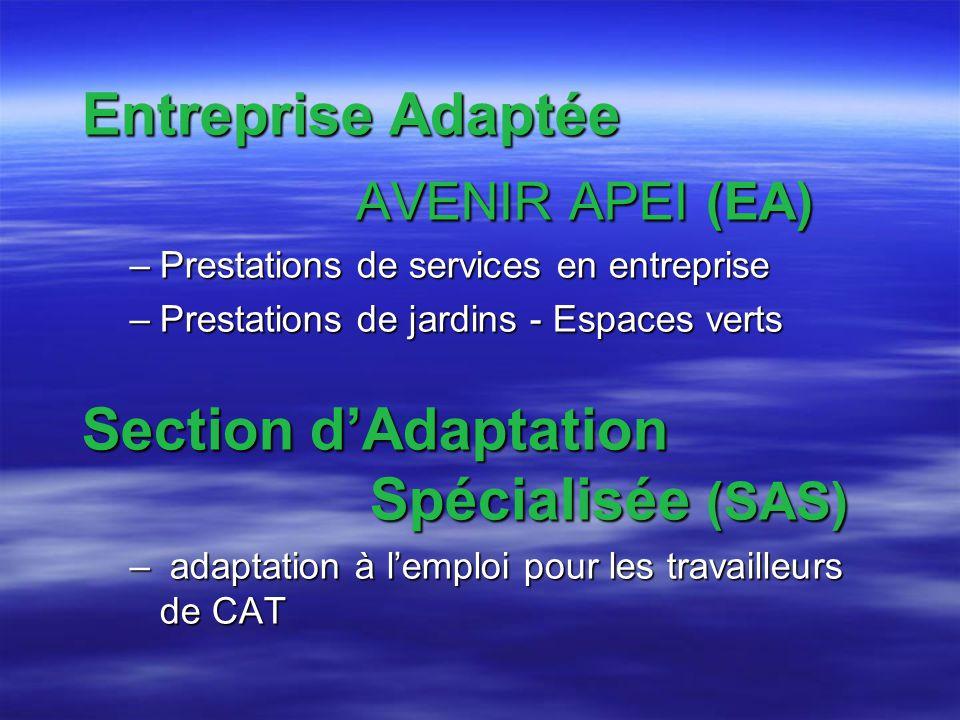 Section d'Adaptation Spécialisée (SAS)