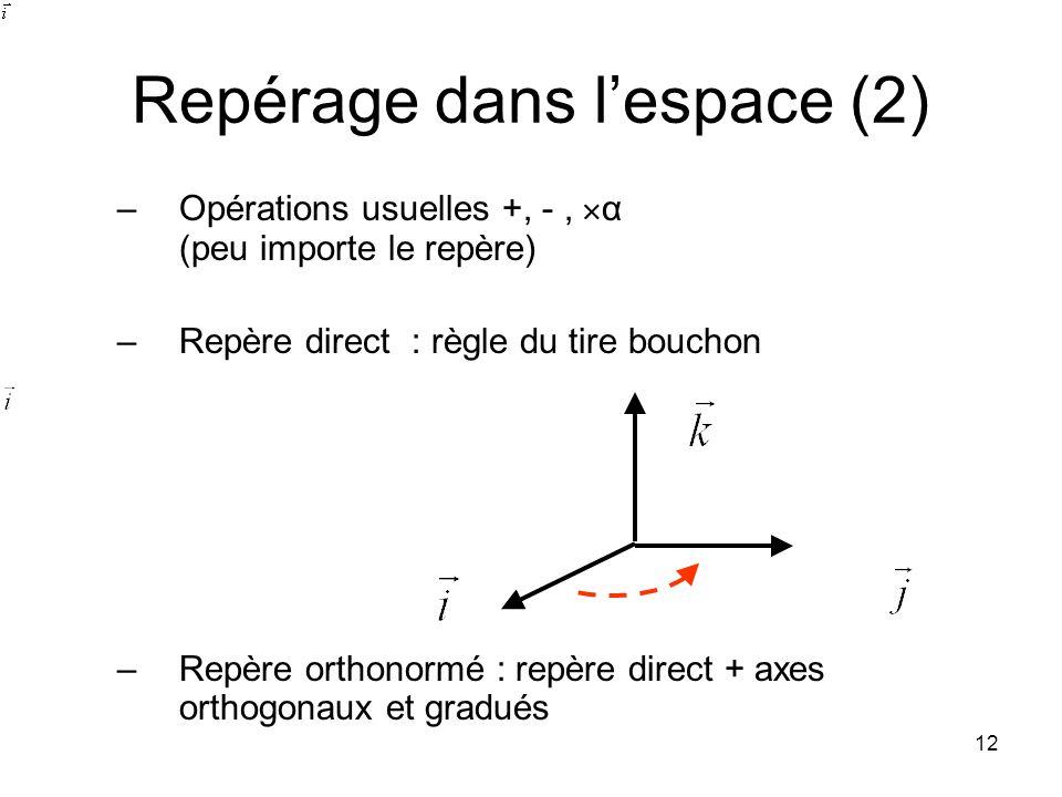 Repérage dans l'espace (2)