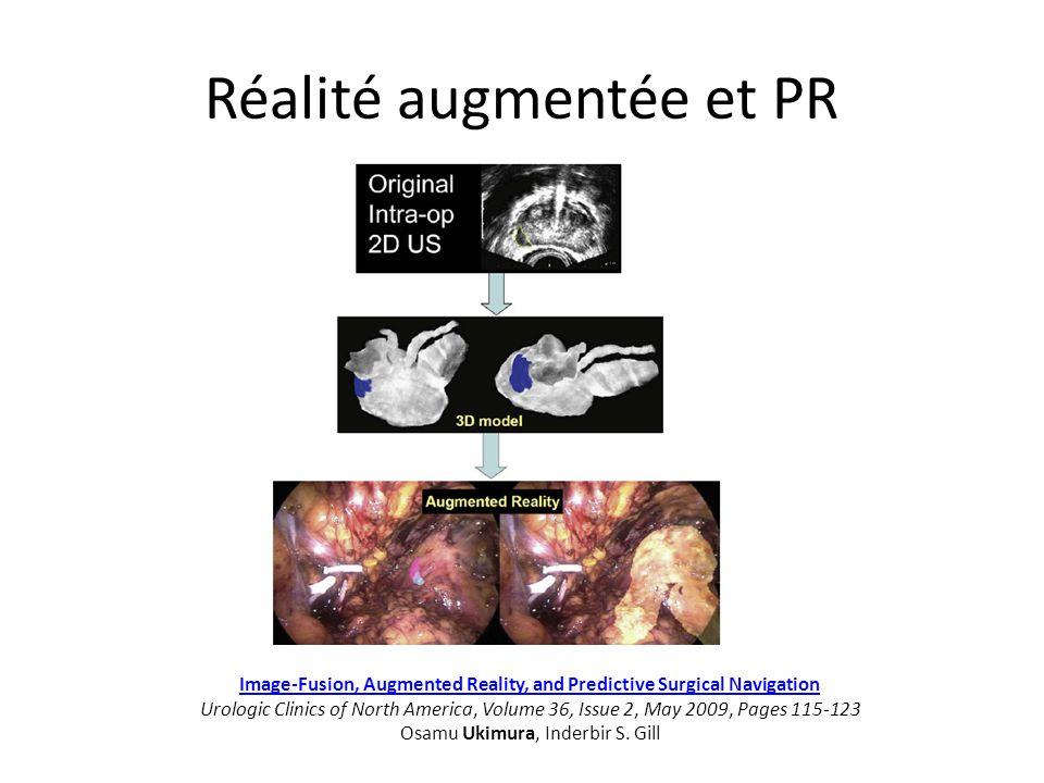 Réalité augmentée et PR