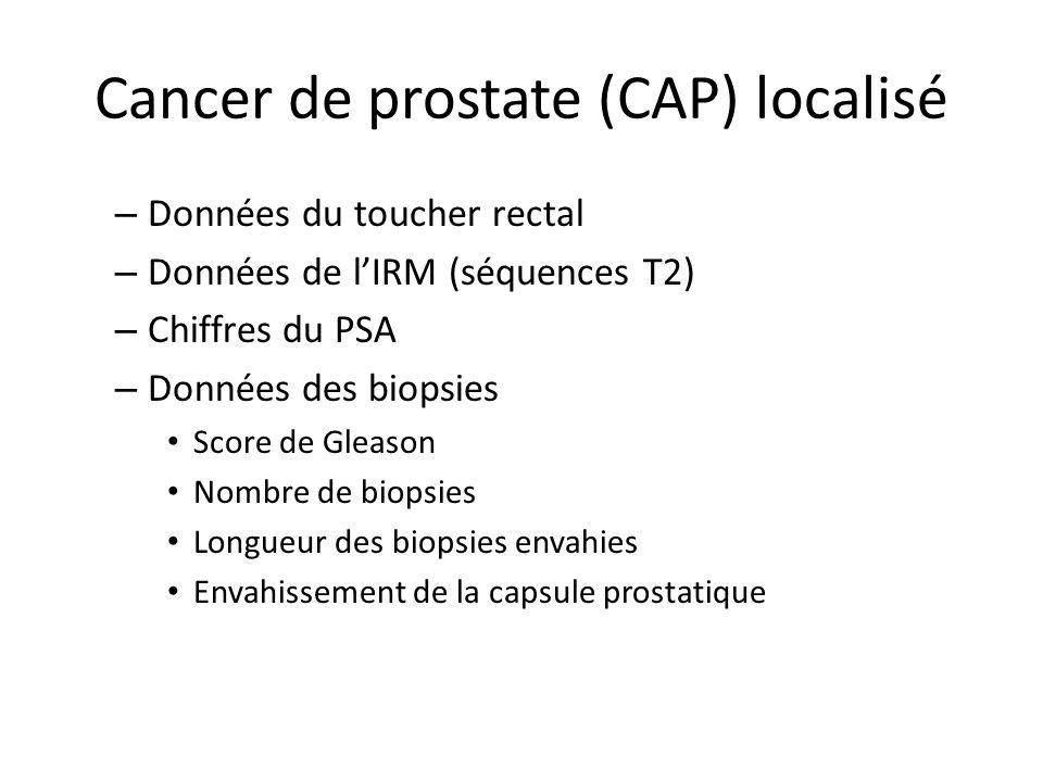 Cancer de prostate (CAP) localisé