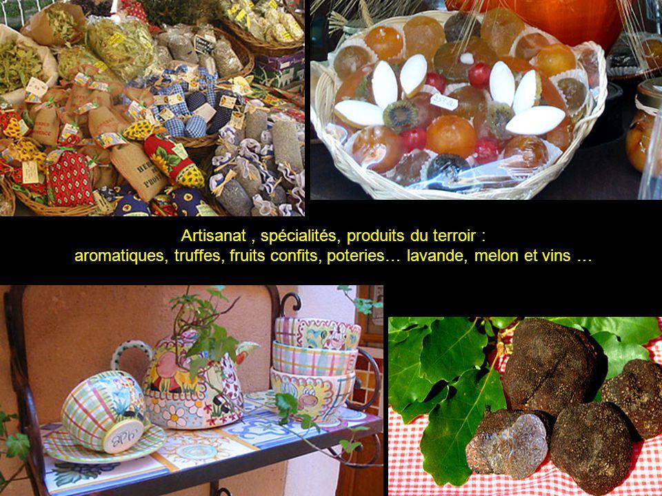 Artisanat , spécialités, produits du terroir :