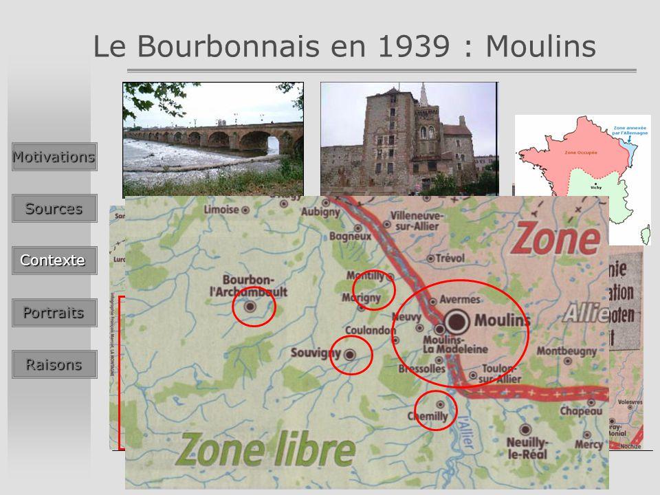 Le Bourbonnais en 1939 : Moulins