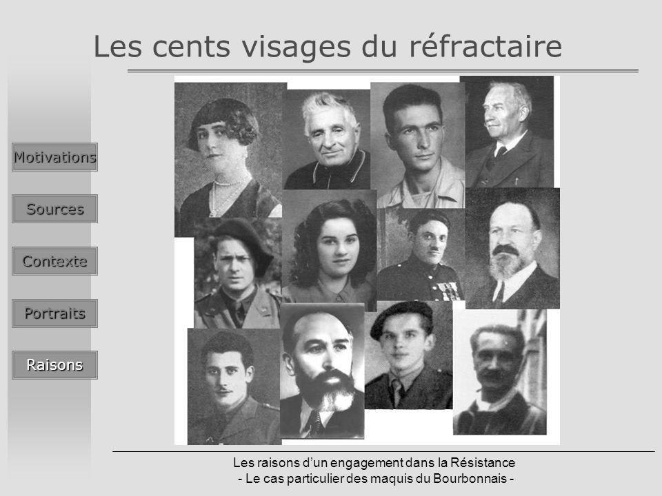Les cents visages du réfractaire