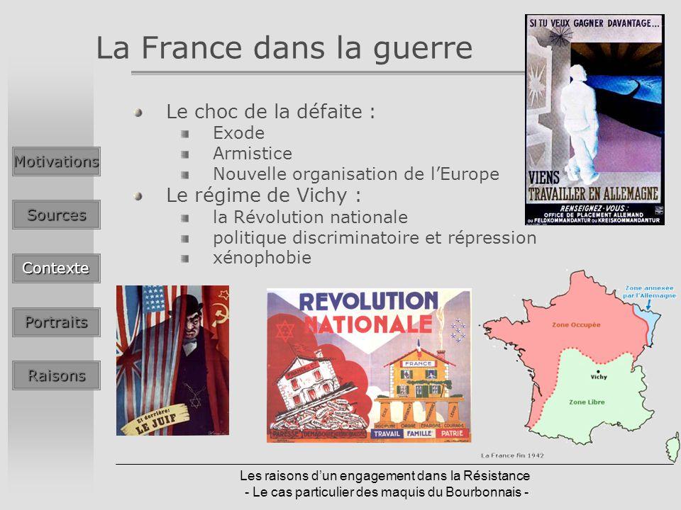 La France dans la guerre