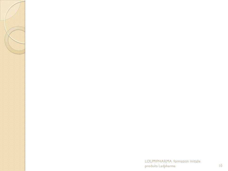 LOUMIPHARMA formation initiale produits Ladpharma