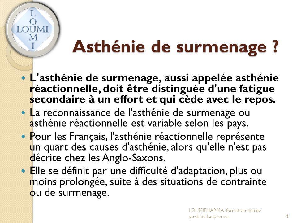 Asthénie de surmenage