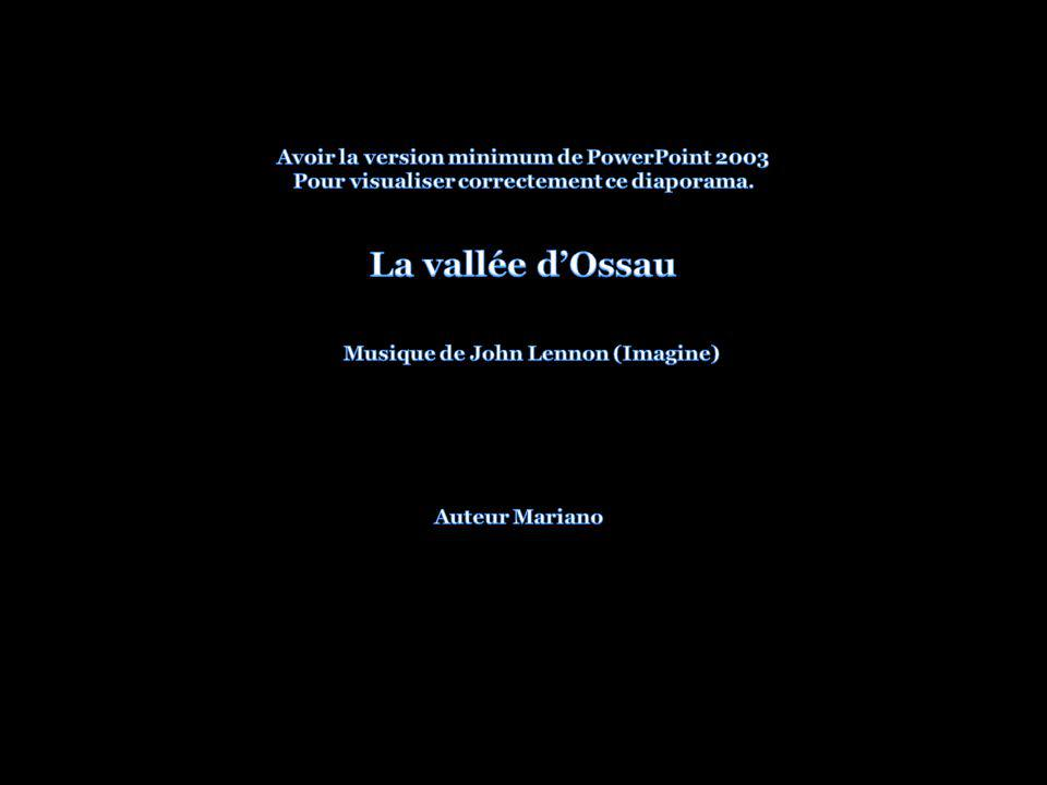La vallée d'Ossau Avoir la version minimum de PowerPoint 2003
