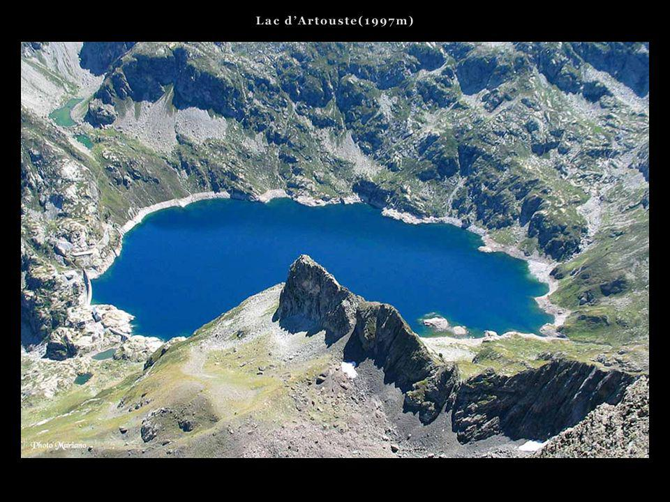 Lac d'Artouste(1997m) . . .