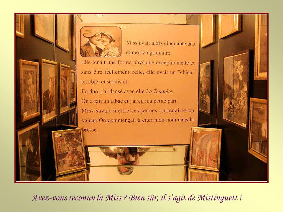 Avez-vous reconnu la Miss Bien sûr, il s'agit de Mistinguett !