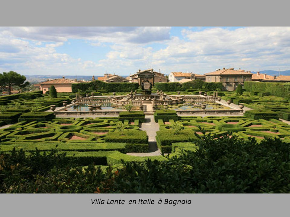 Villa Lante en Italie à Bagnala