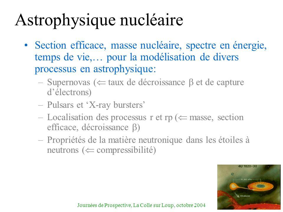 Astrophysique nucléaire