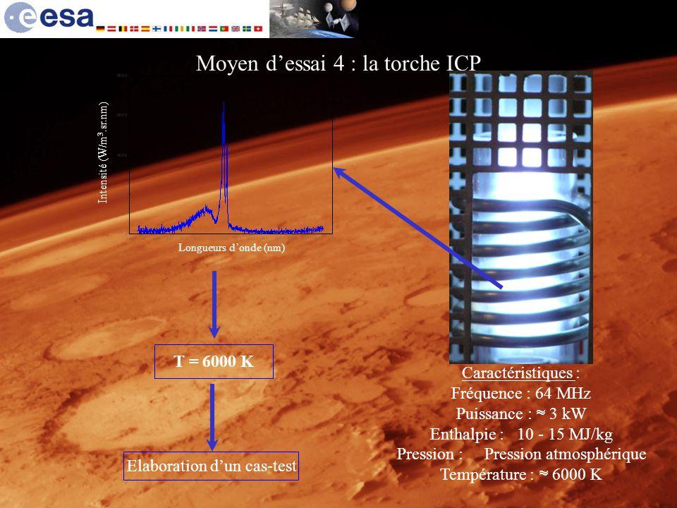 Moyen d'essai 4 : la torche ICP