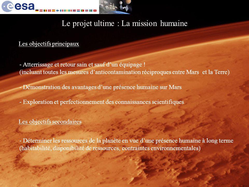 Le projet ultime : La mission humaine