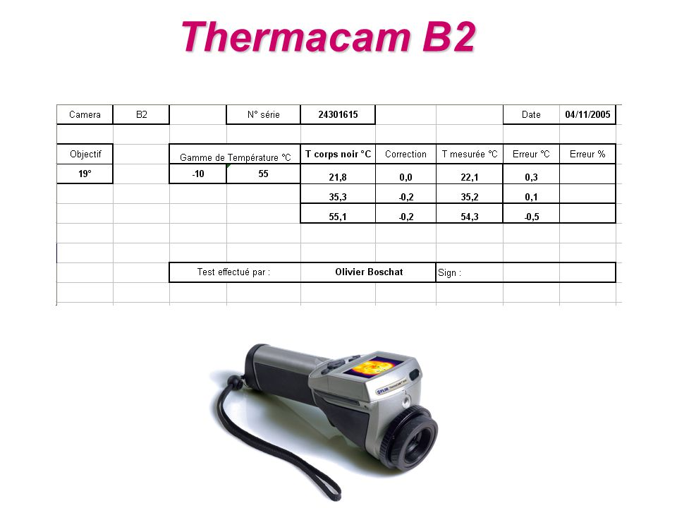 Thermacam B2