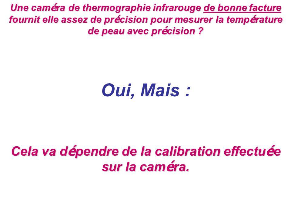 Une caméra de thermographie infrarouge de bonne facture fournit elle assez de précision pour mesurer la température de peau avec précision .