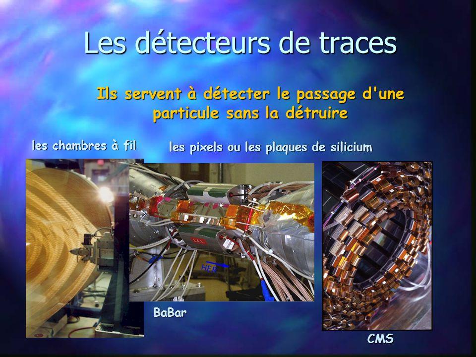 Les détecteurs de traces