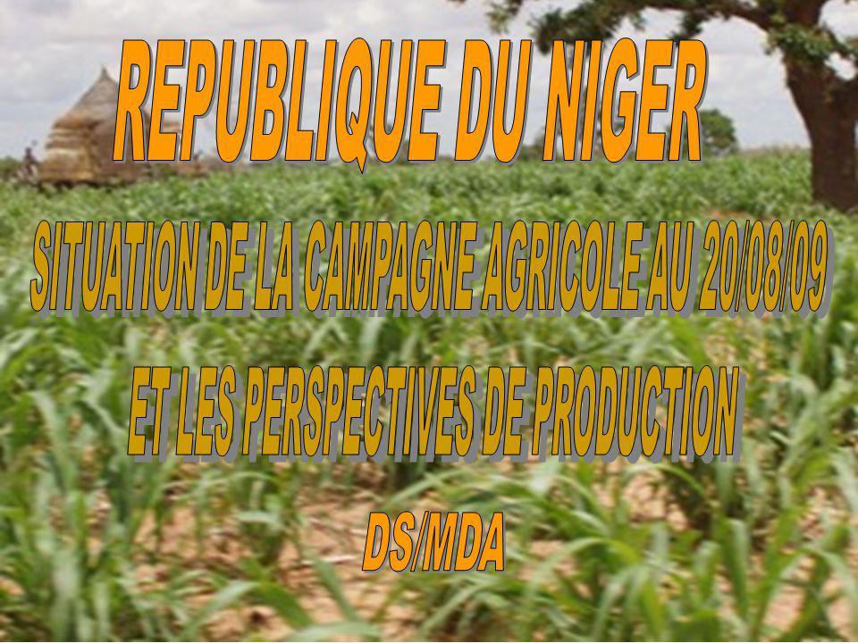 REPUBLIQUE DU NIGER DS/MDA