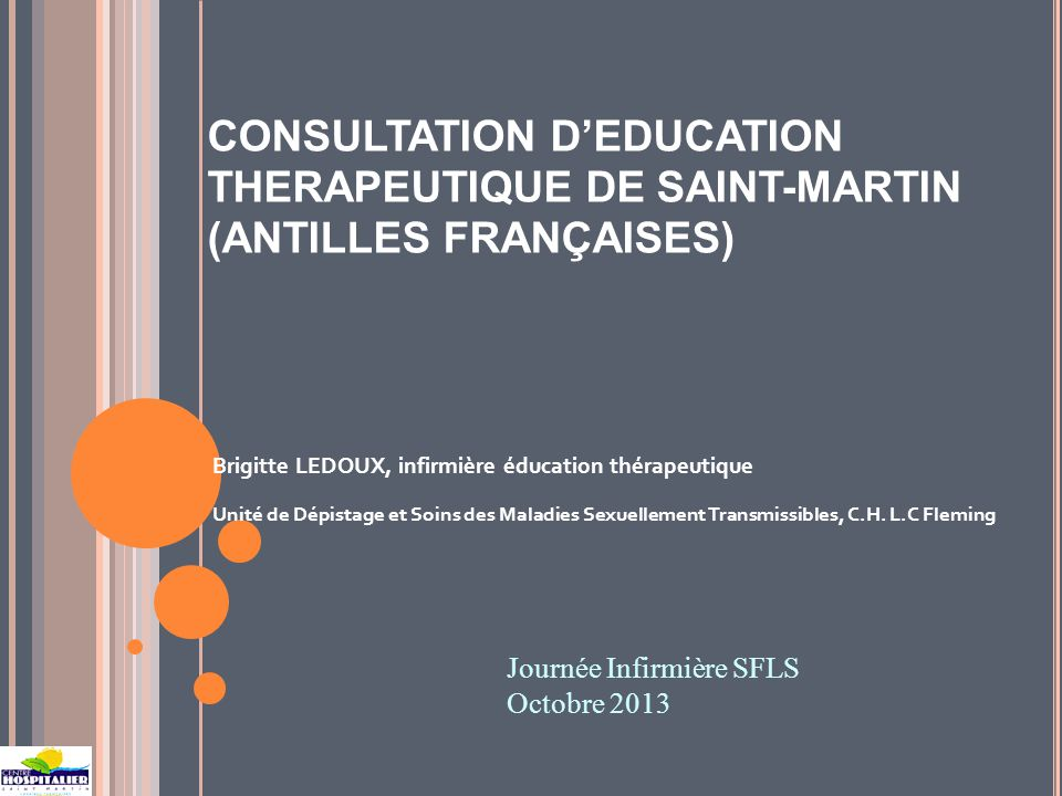 CONSULTATION D'EDUCATION THERAPEUTIQUE DE SAINT-MARTIN (ANTILLES FRANÇAISES)