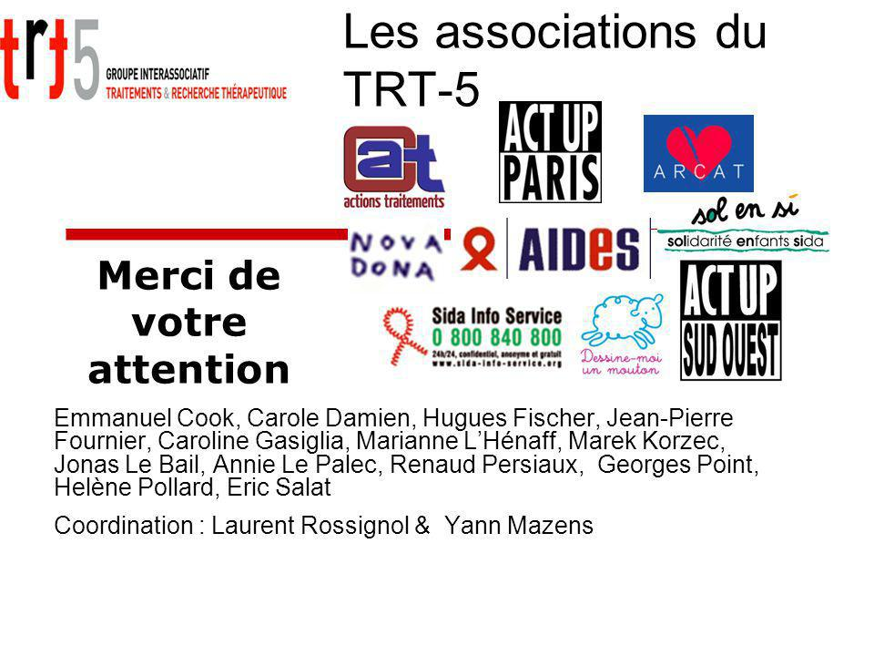 Les associations du TRT-5