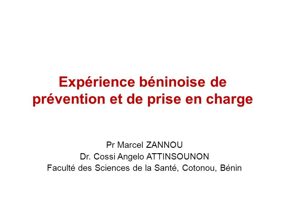 Expérience béninoise de prévention et de prise en charge
