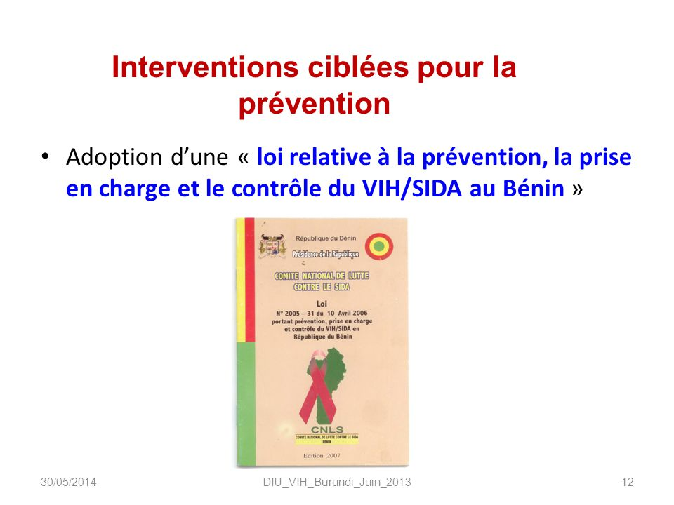 Interventions ciblées pour la prévention