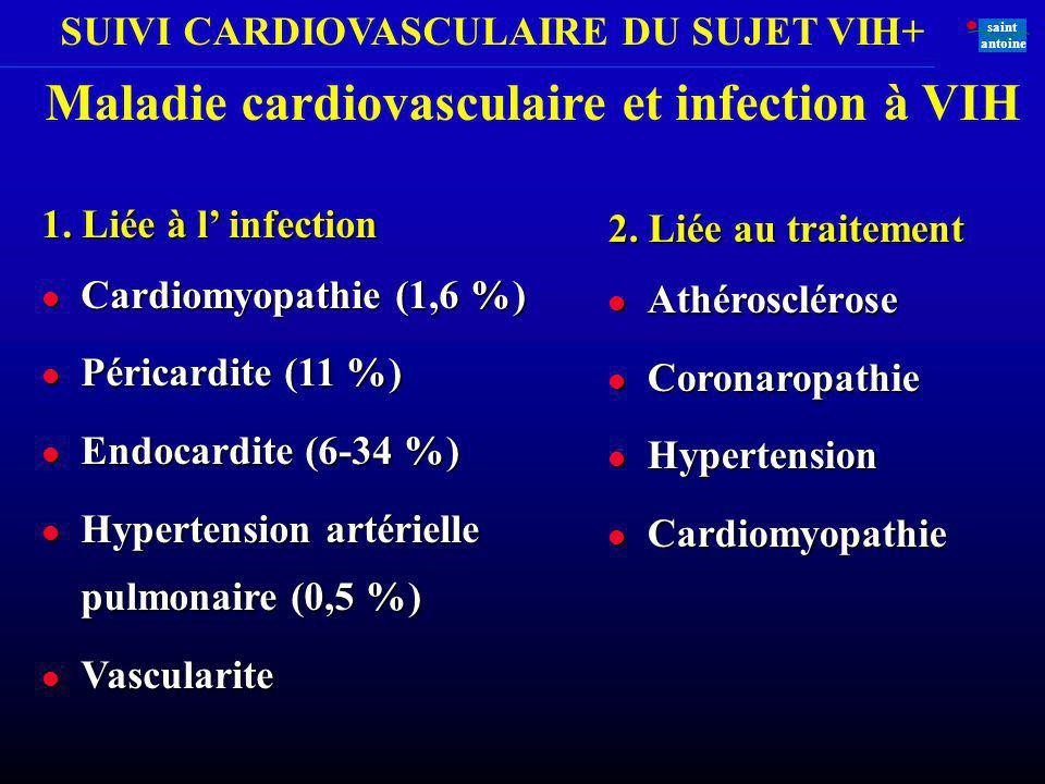 Maladie cardiovasculaire et infection à VIH