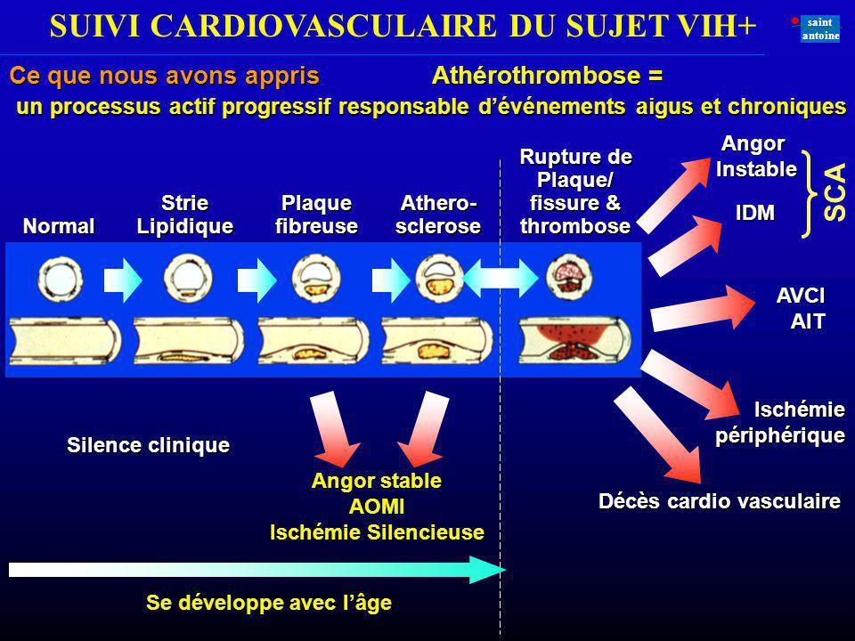 Plaque/ fissure & thrombose