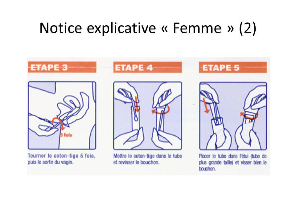 Notice explicative « Femme » (2)