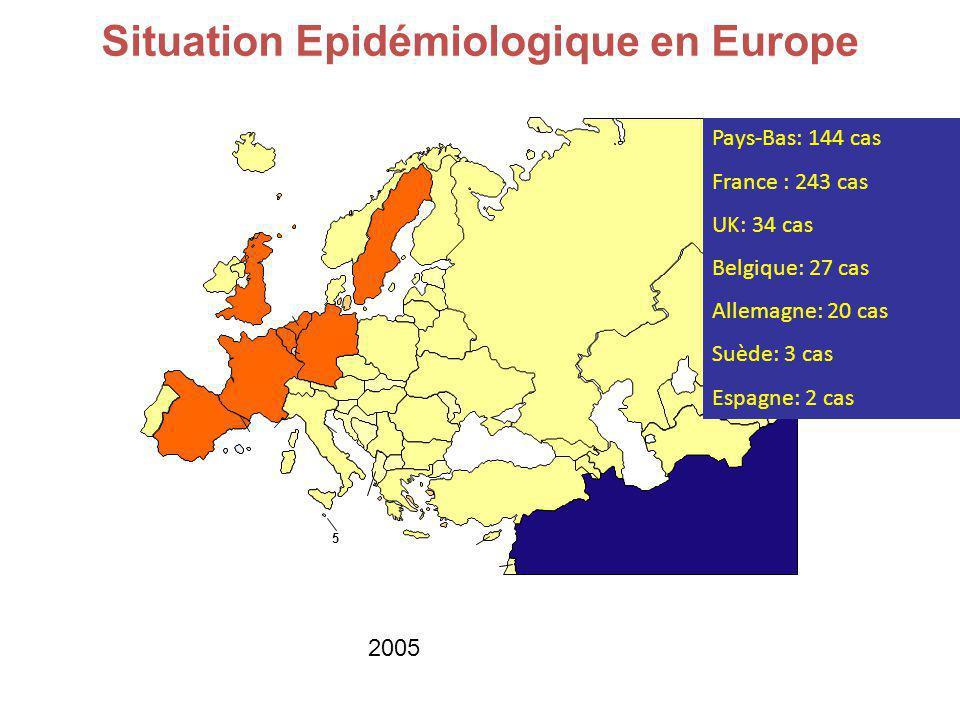 Situation Epidémiologique en Europe