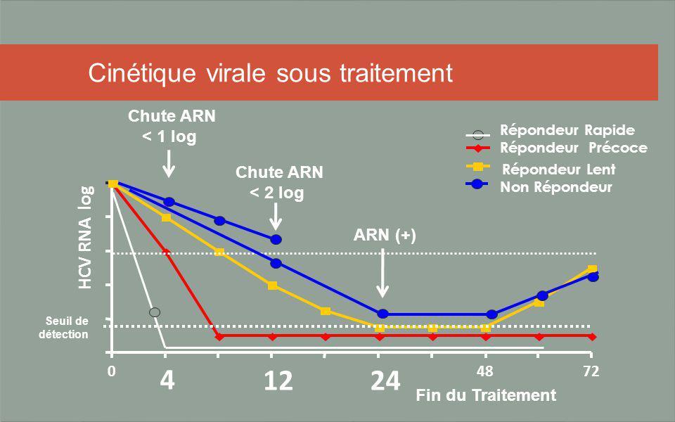 Cinétique virale sous traitement