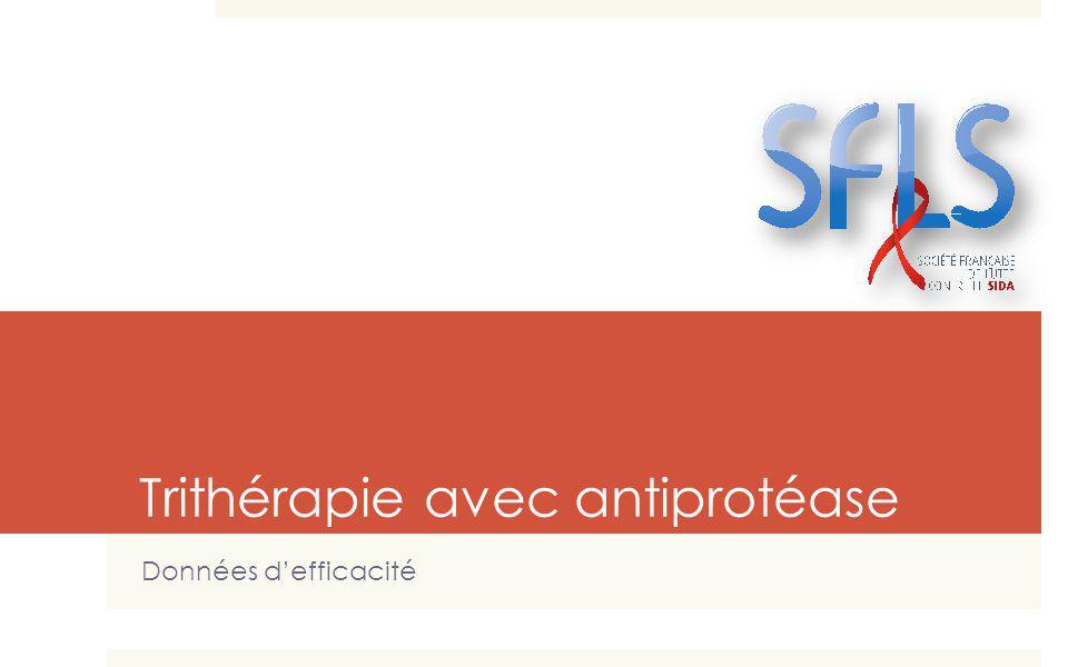 Trithérapie avec antiprotéase