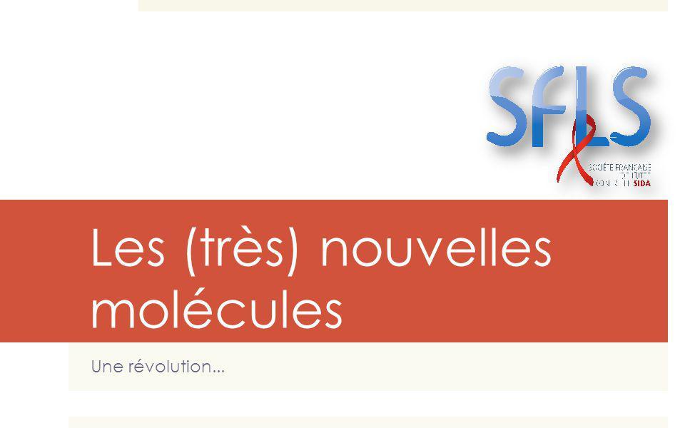 Les (très) nouvelles molécules