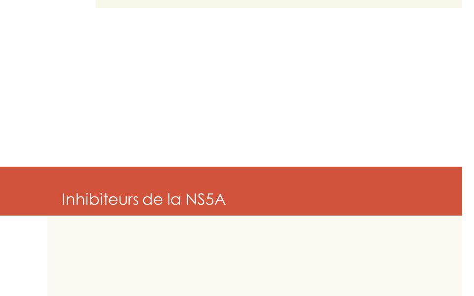 Inhibiteurs de la NS5A