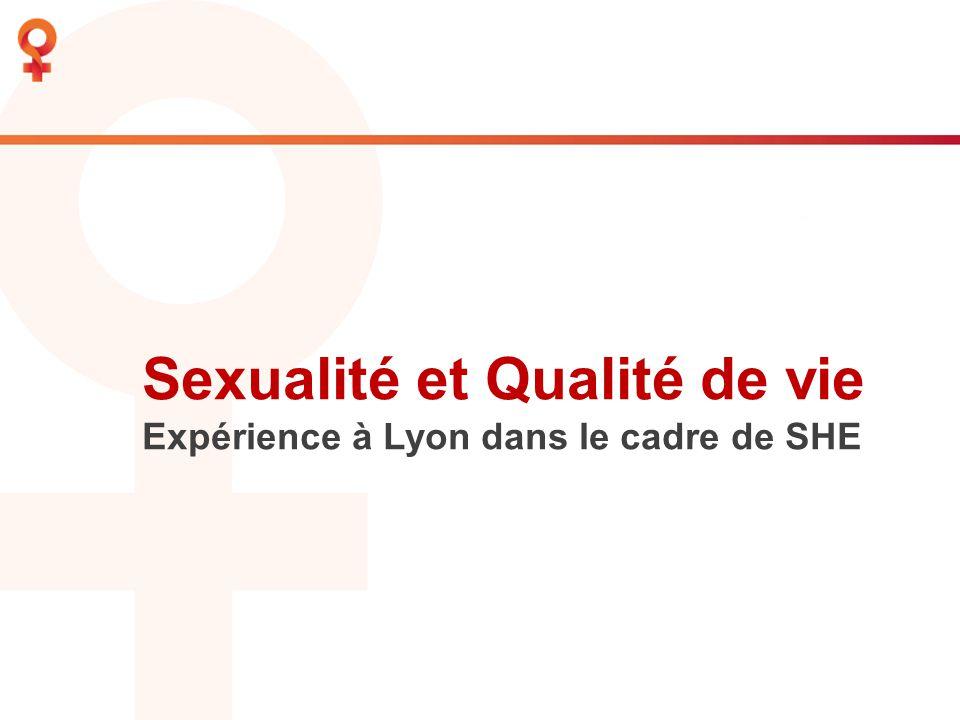 Sexualité et Qualité de vie