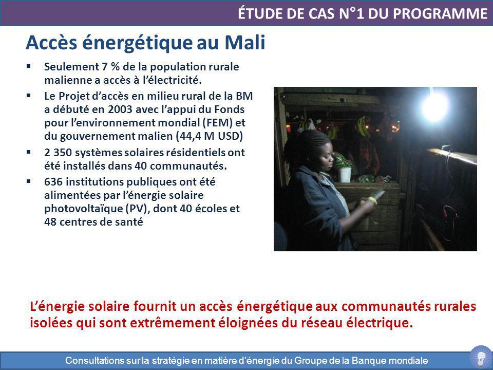 Accès énergétique au Mali