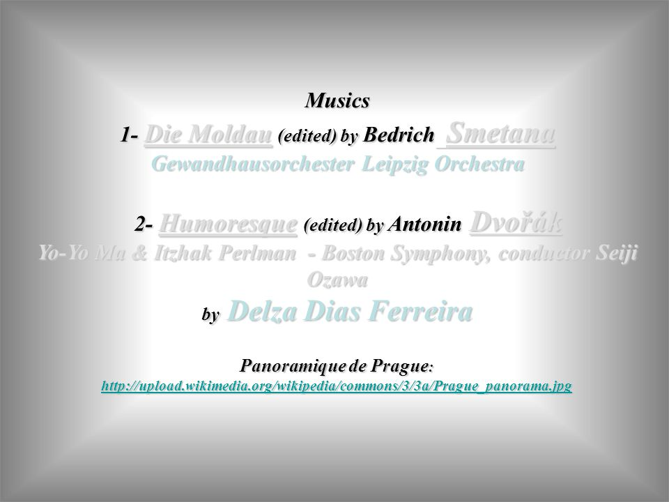 1- Die Moldau (edited) by Bedrich Smetana