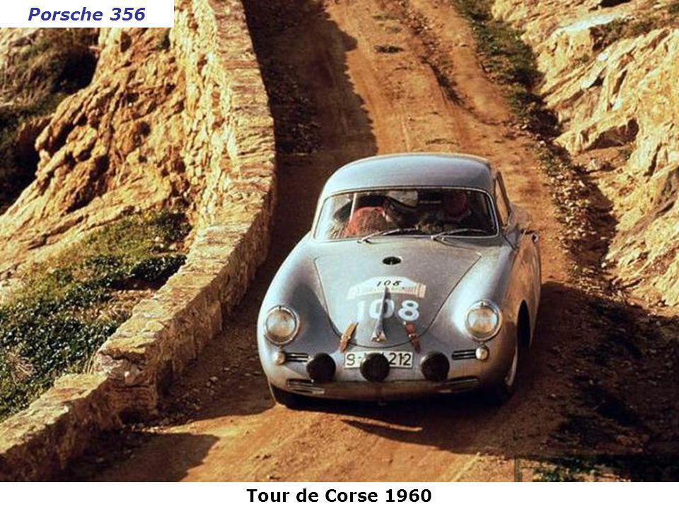 Porsche 356 Tour de Corse 1960