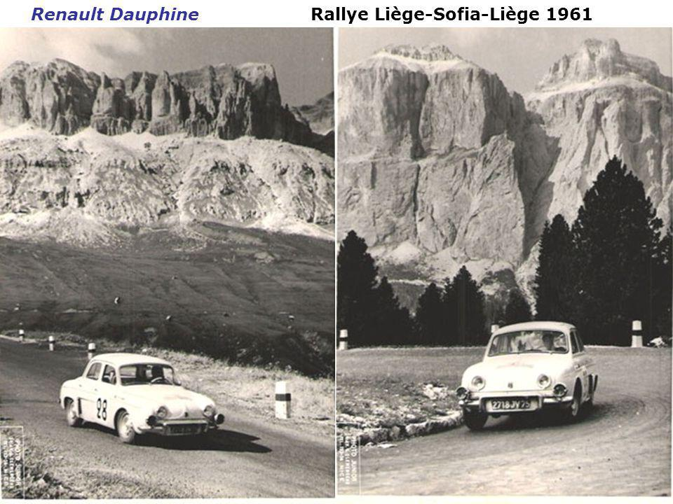 Rallye Liège-Sofia-Liège 1961