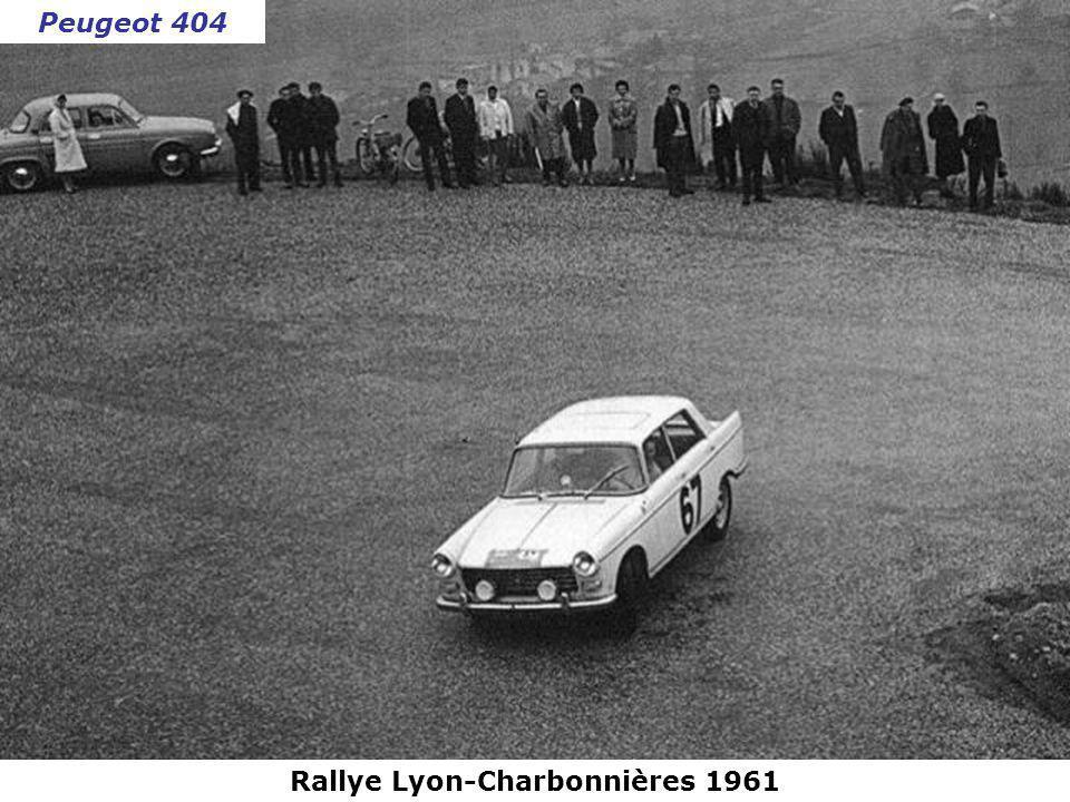 Rallye Lyon-Charbonnières 1961