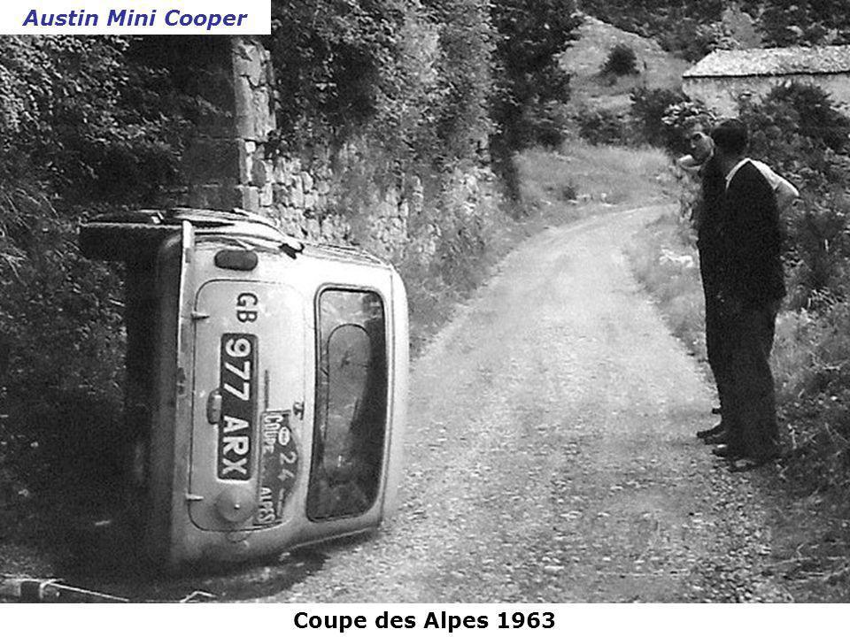 Austin Mini Cooper Coupe des Alpes 1963