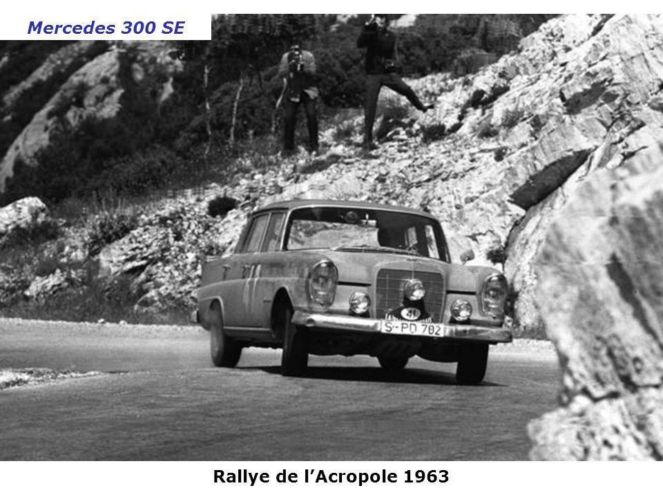 Mercedes 300 SE Rallye de l'Acropole 1963