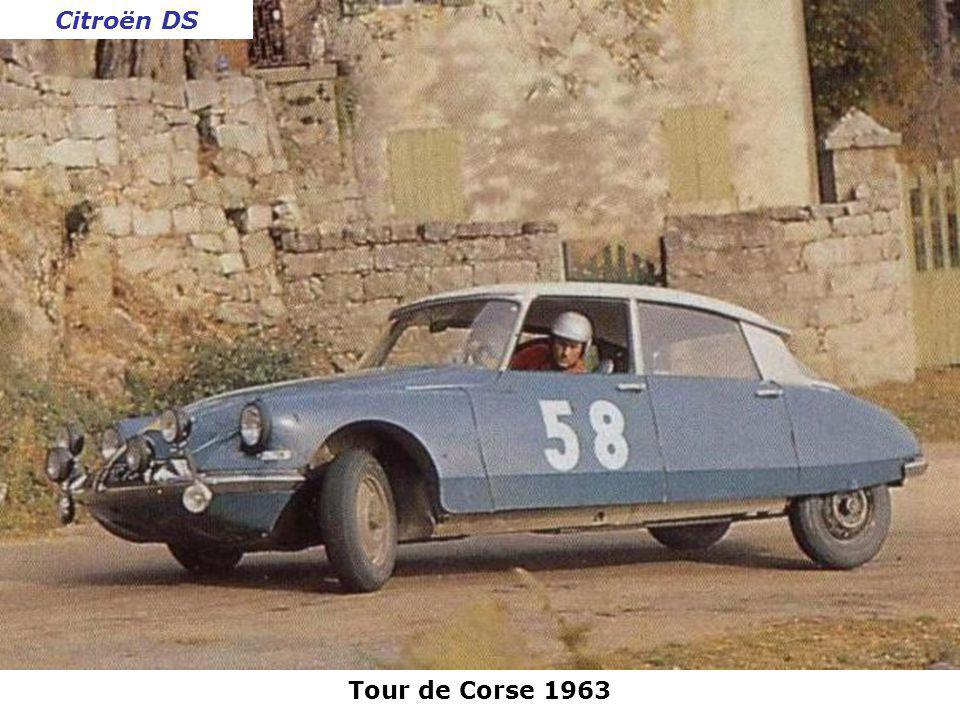 Citroën DS Tour de Corse 1963