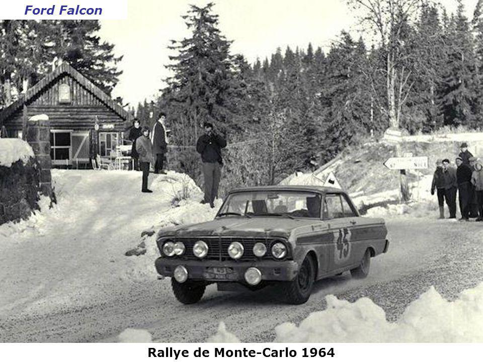Ford Falcon Rallye de Monte-Carlo 1964