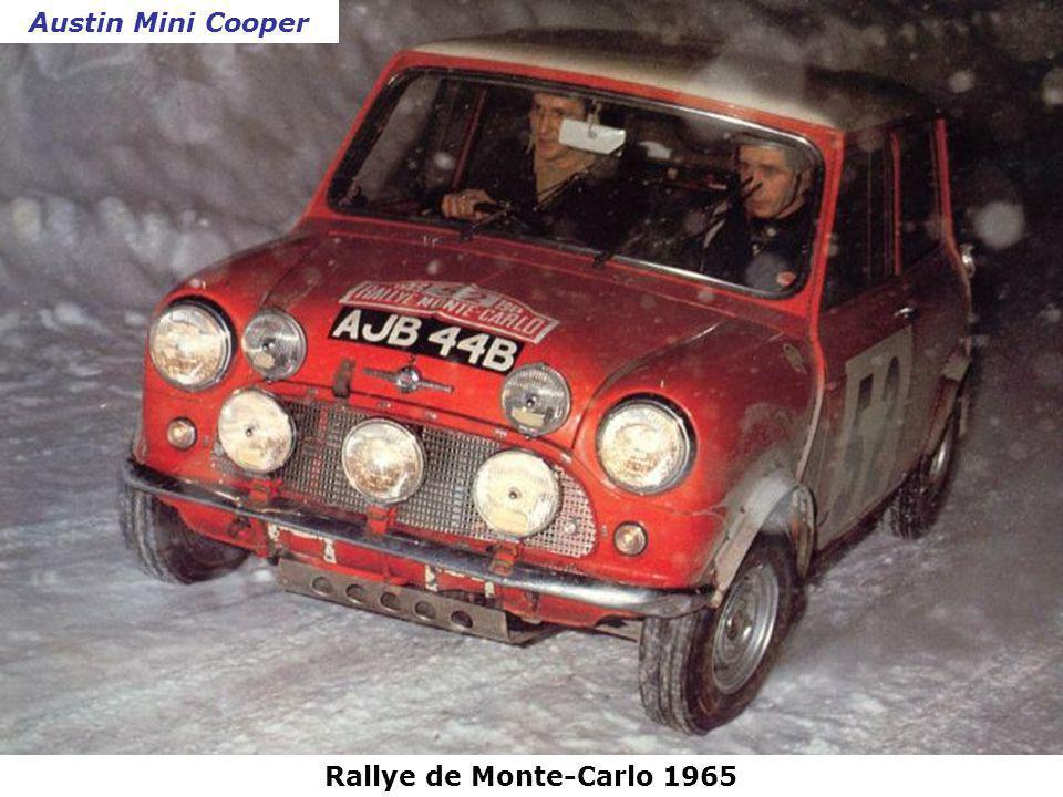 Austin Mini Cooper Rallye de Monte-Carlo 1965