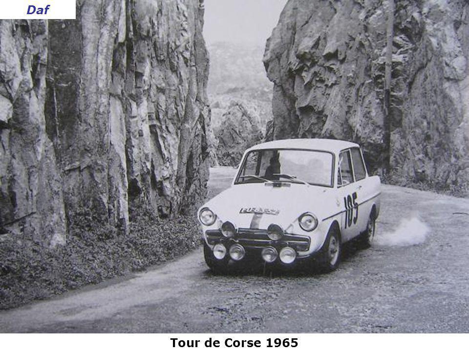 Daf Tour de Corse 1965