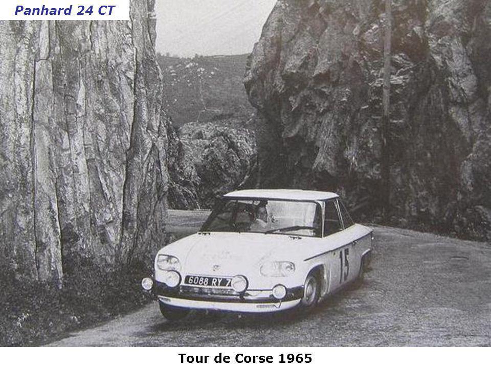 Panhard 24 CT Tour de Corse 1965