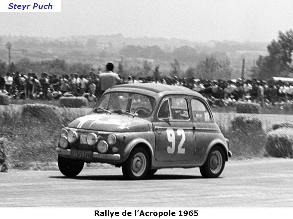 Steyr Puch Rallye de l'Acropole 1965