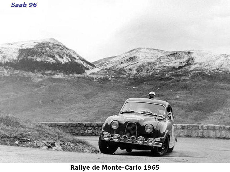 Saab 96 Rallye de Monte-Carlo 1965